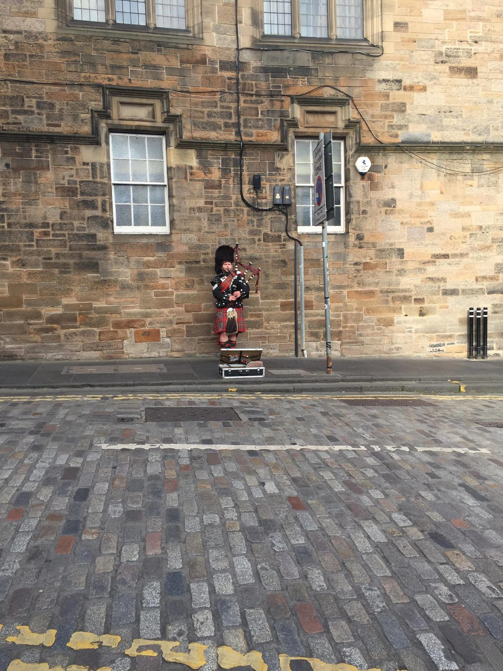 Exploring Edinburgh!
