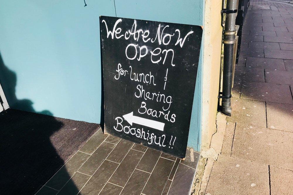 Bury St Edmunds | Lunch At The Boosh Bar!