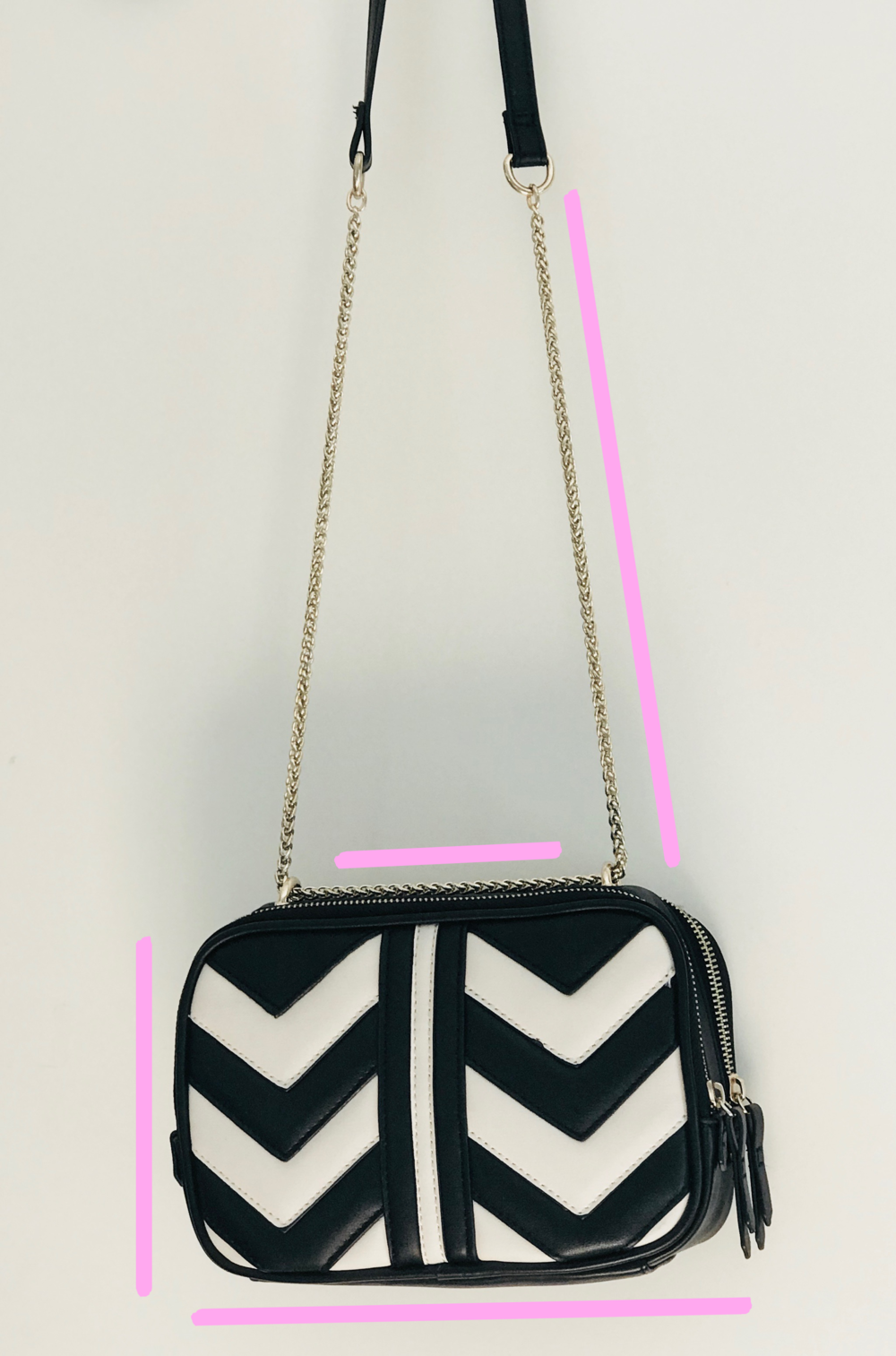Accessorize black and white bag | My Current Fave High Street Bags!