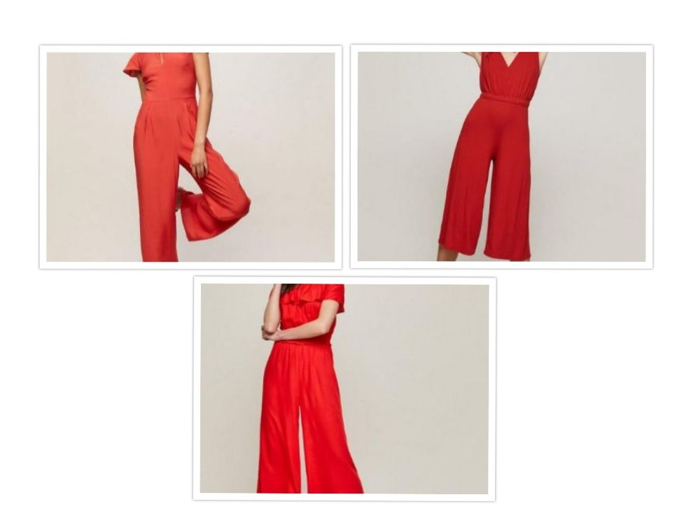 collage of jumpsuits
