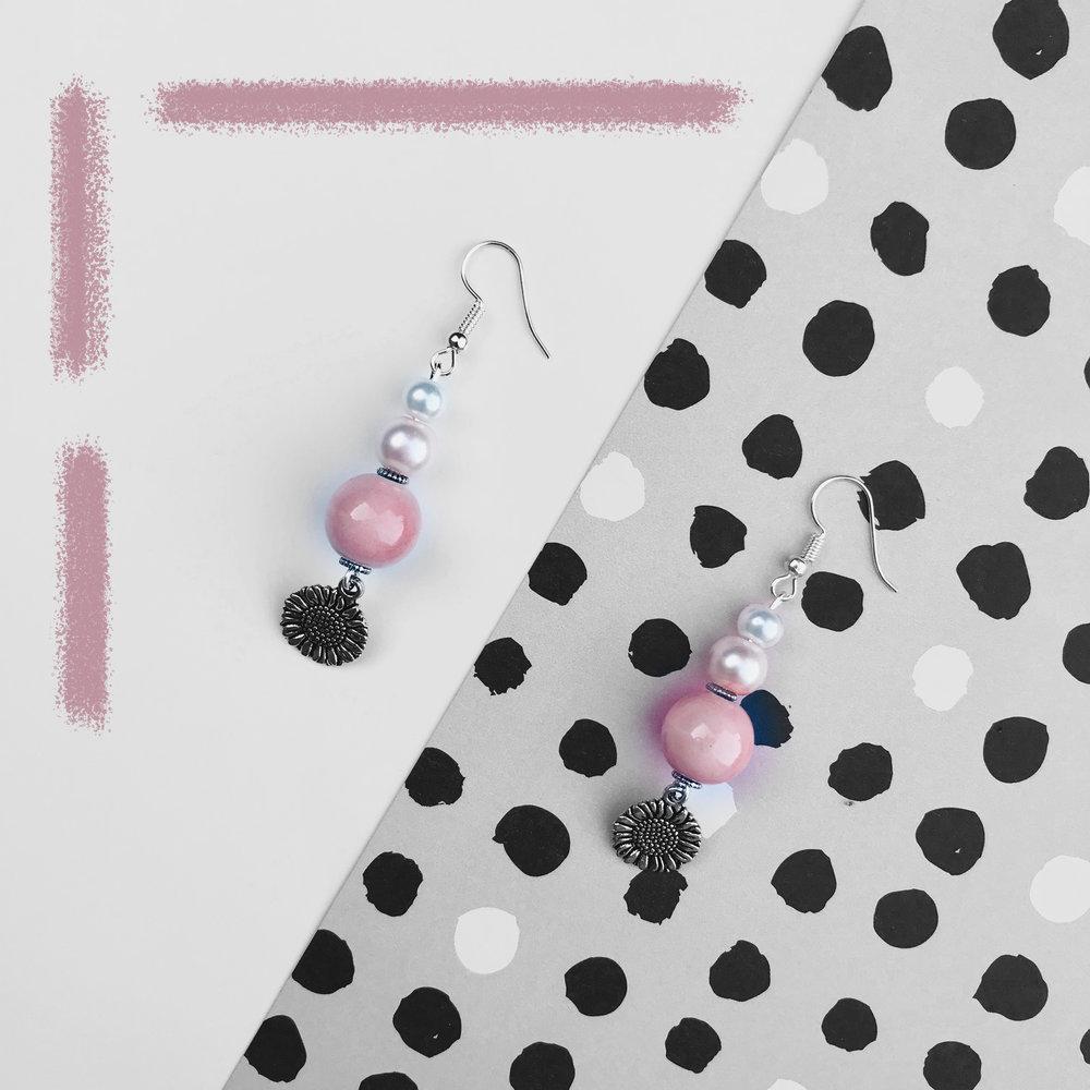 Lucy's Earrings Pink