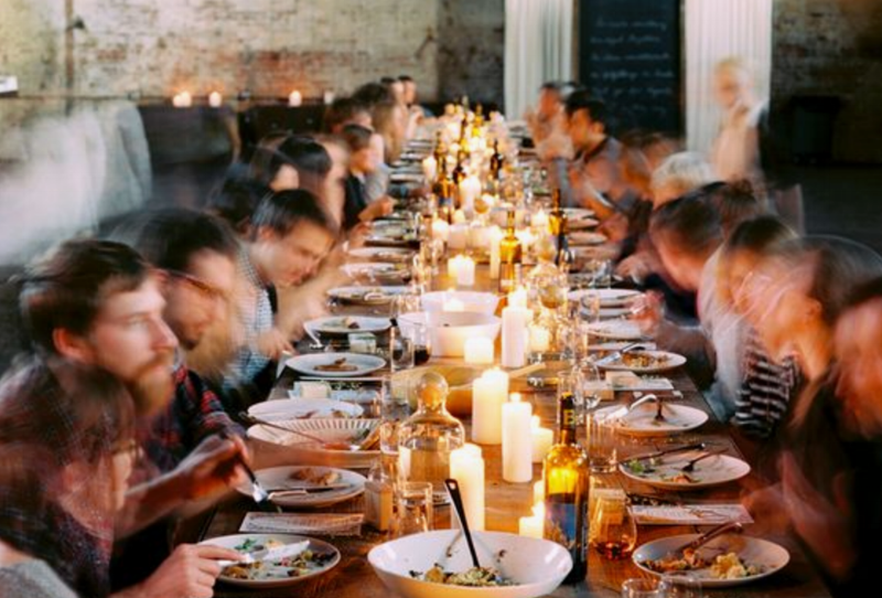 Feasts - In the true spirit of the term, our Feasts are decadent events designed to inspire connections and lively conversation at a table filled with chef-prepared dishes and excellent libations. They're hosted in stunning venues across the country that feature unique lodging add-ons so that you can linger long after dessert.