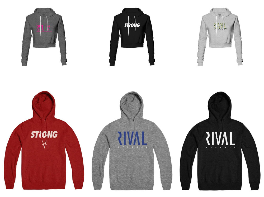 RIVAL APPAREL - Before you can go head-to-head with your opponent, you must first go head-to-head with your greatest RIVAL--you.