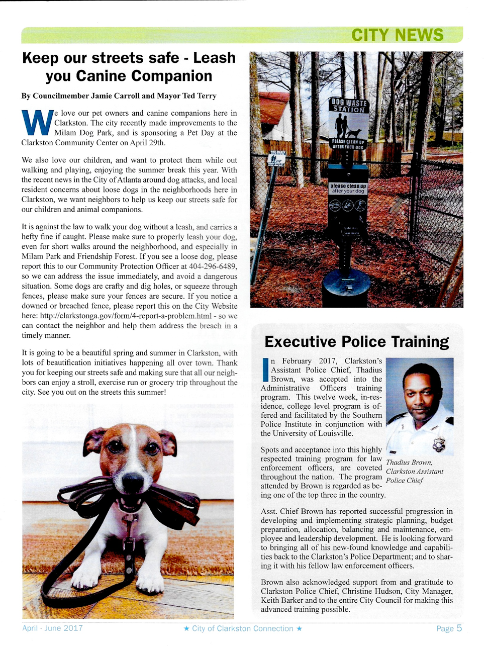 Let's keep our streets safe – Leash Your Canine Companion.png