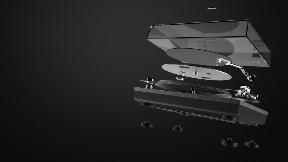 20 hours of CAD modeling - 18 major components, hundreds of aesthetic parts