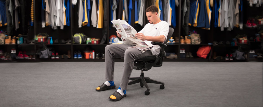NEW WORK: Klay Thompson for the Bay Area News Group.