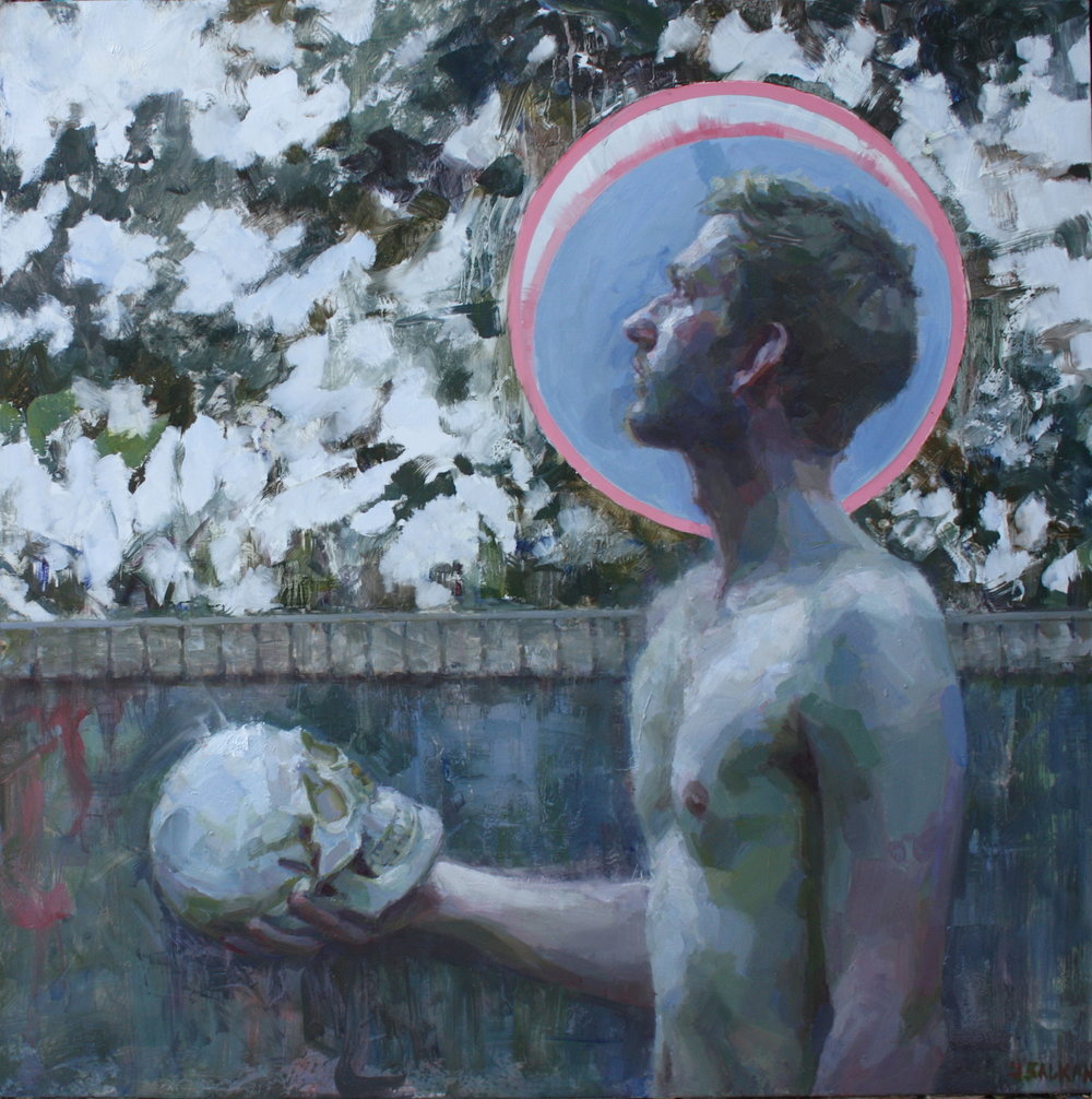 """Painter of Heads"" by Jennifer Balkan"