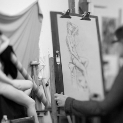 Figure Drawing - Sunday, January 27, 2019, 1-4 pmThis session focuses on drawing the figure from life using charcoal. Students will learn about basic proportions, comparative measuring and how to use shading and value to render the form.NOTE: This session will have an unclothed model. Students under 18 need to have parents or guardians sign a waiver in order to take the class.Materials and model fee included.$85/Session