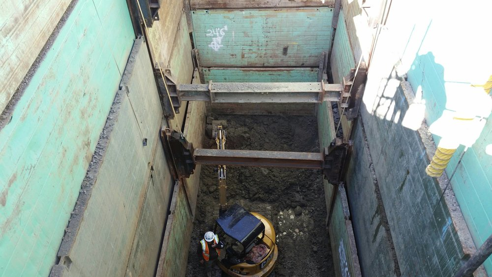 BP Petaluma for PG&E - 40' deep Single Slide Rail within Double Slide Rail.jpg