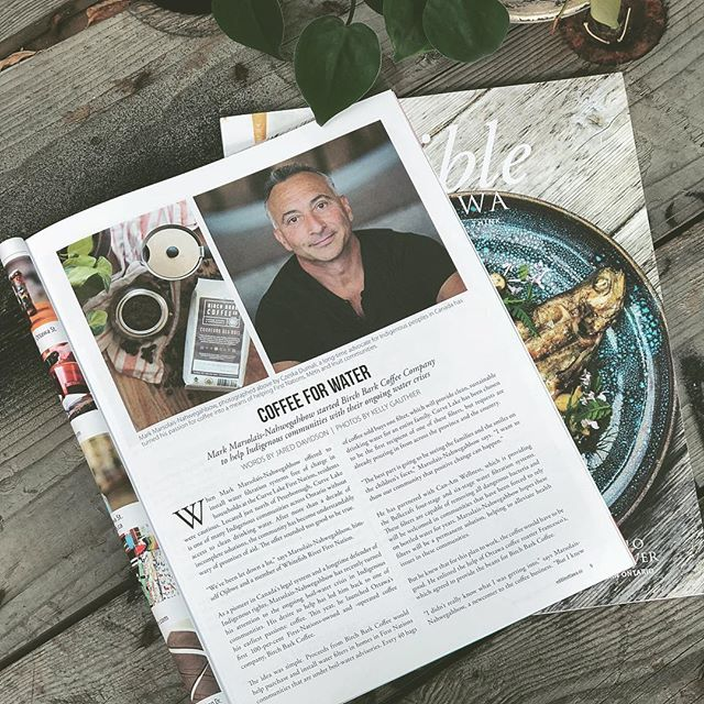 Seeing your client featured in one of your favourite local magazines, just two short months after you officially launched their business, makes the heart all kinds of proud 💕☕️💧(Learn more about @birchbarkcoffee's incredible mission to bring clean water to our Indigenous homes at www.birchbarkcoffeecompany.com) . . . . #ecommerce #shopify #smallbiz #shopifythemes #retail #commerce #website #entrepreneur #webdesign #development #webdevelopment #shopifypartners #agency #design #digital #services #squarespace #wordpress #creativepreneur #artisan #marketing #accounting #workshop #butfirstcoffee #fridayfeels