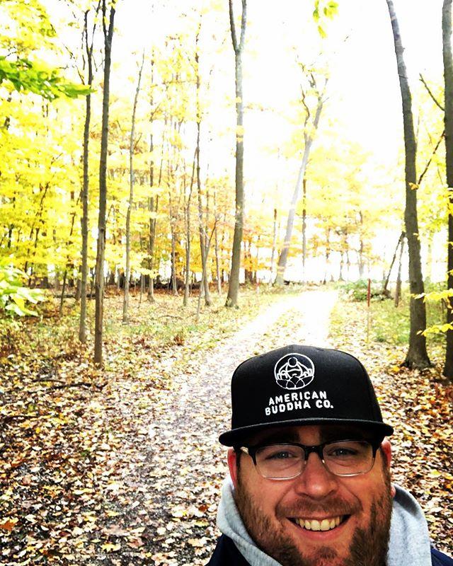 Fall time woods walk.  #fall  #woods  #walk  #americanbuddhaco