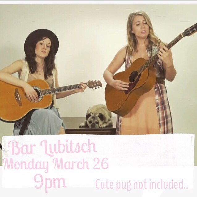 Got some sinus stuff going on and my voice isn't 100%... but we're still gonna sing for ya tonight, and you're going to like it! (Um, we hope). At least come chill with @lizbenham22 and I at this rad bar, have some drinks and some laughs! Xox