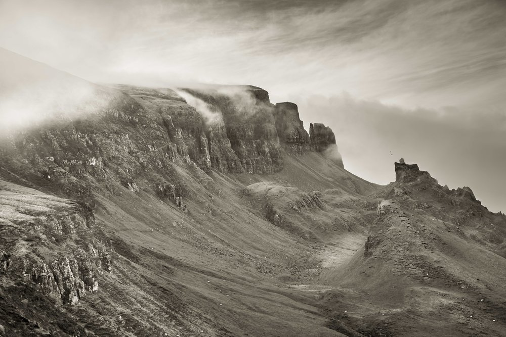 The Quiraing I, Isle of Skye, Scotland