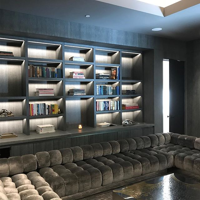 Media Center. Our latest install collaboration with visionary @alexpwhite! #luxurylifestyle