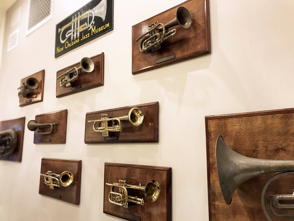 When Louis Armstrong stays at your hotel, you tend to amass a vast collection of his favorite instrument.