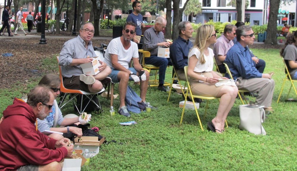 Boxed Lunches in Tampa Gaslight Park Program