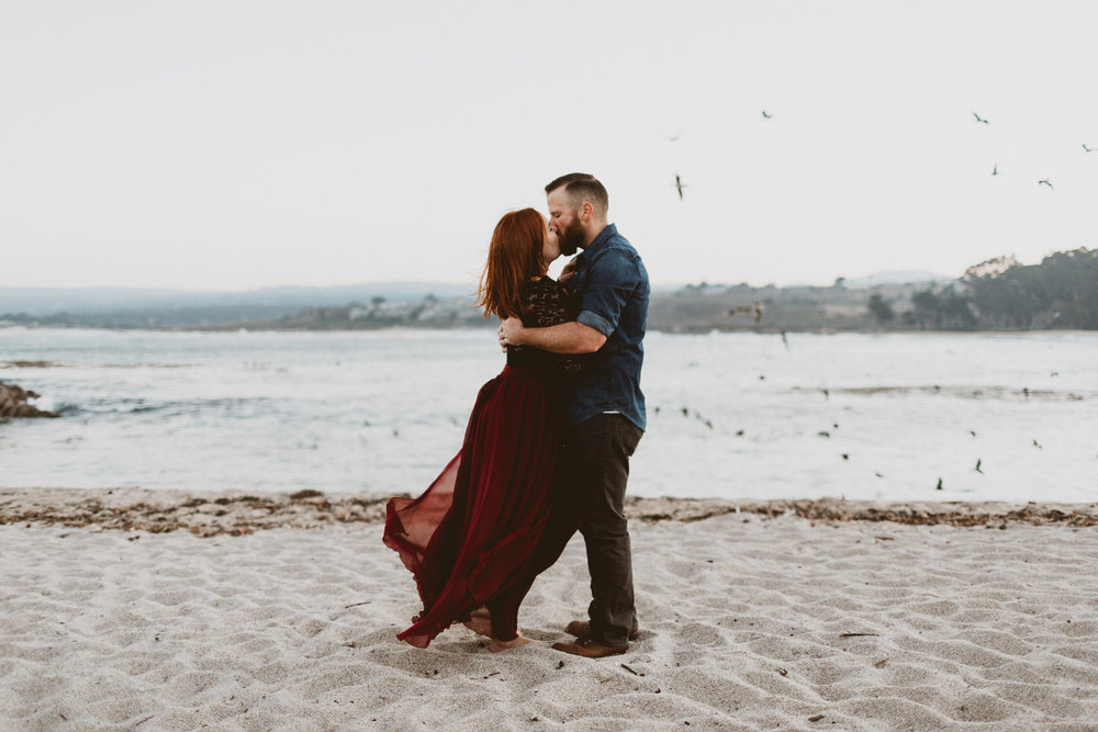KATIE + JOE - A WEST-COAST MORNING ENGAGEMENT