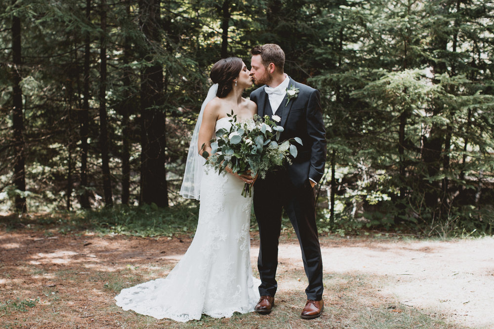 ANNA + PAT - A WOODLAND WEDDING IN DULUTH, MINNESOTA
