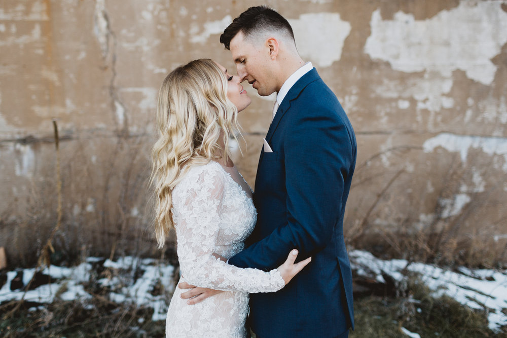 grace + bryce - A ROMANTIC WEDDING AT THE NP EVENT SPACE