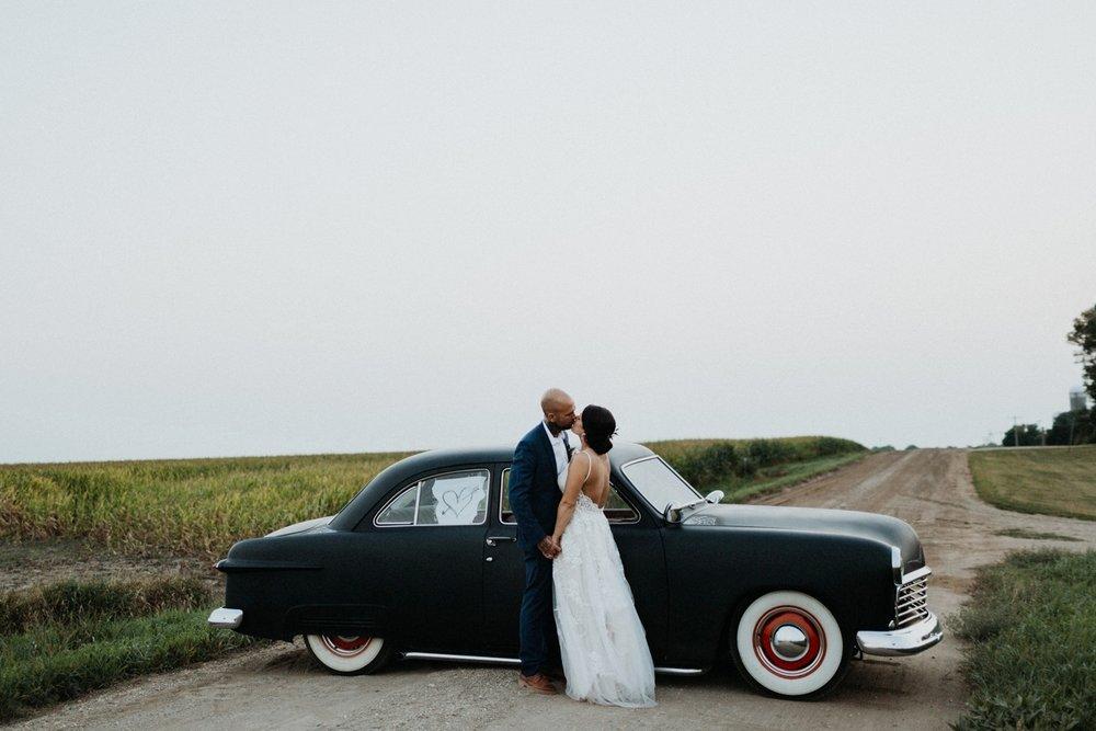LEIAH + TIM - AN ALTERNATIVE BACKYARD WEDDING