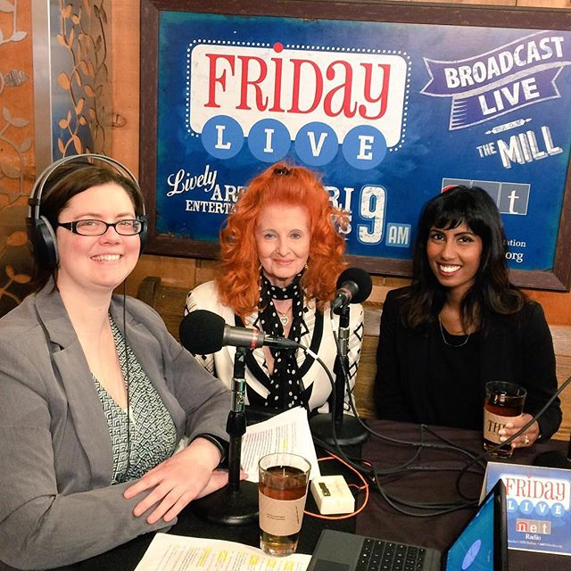 Having a wonderful time in Lincoln, Nebraska for the release of my film! Was on @netradioonline  this morning w/ director @nimishamukerji #burlesque #tempeststorm