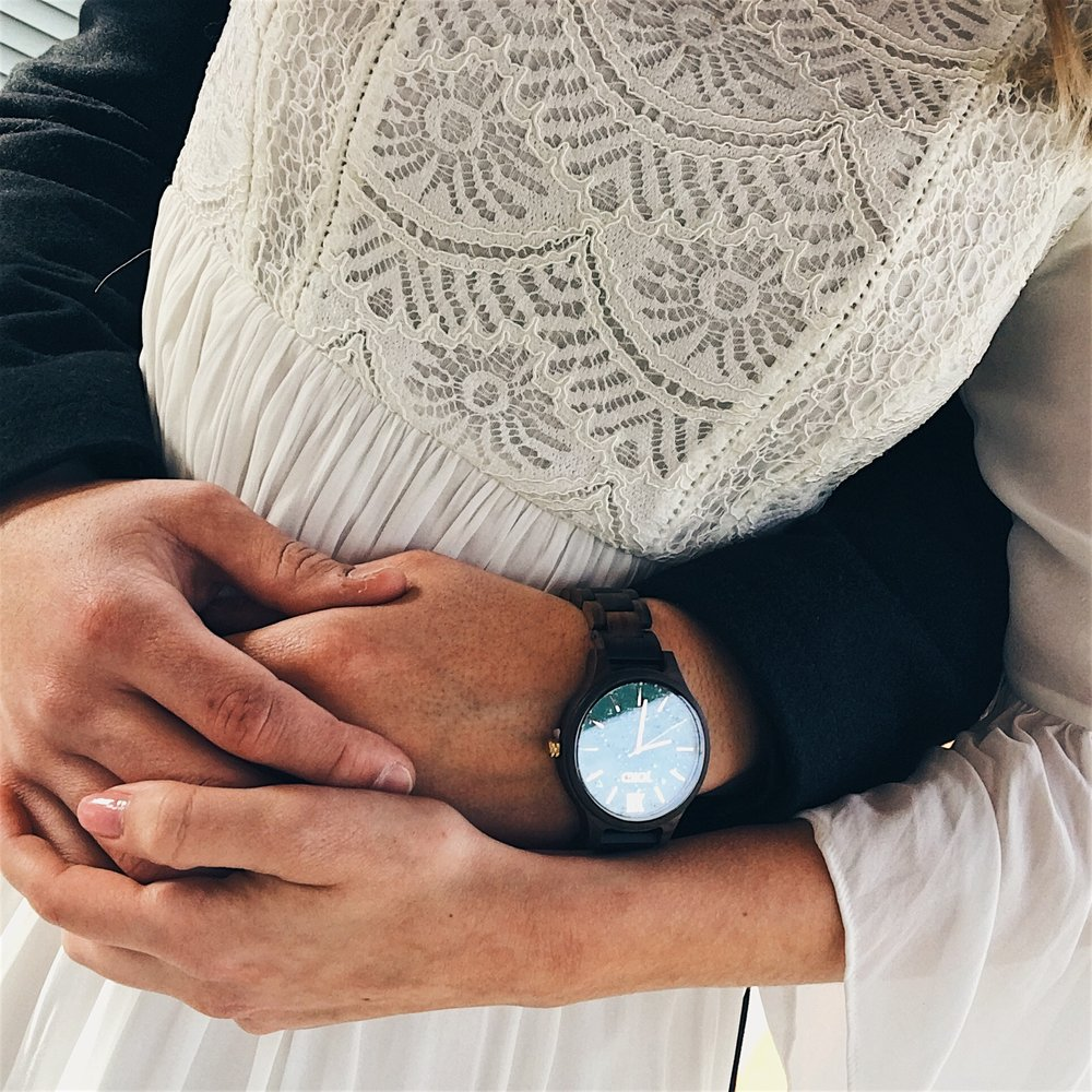 This Valentine's Day, - I was able to gift my loved one a Jord Watch.  This is a special timepiece watch because it signifies special moments and times we've shared together.