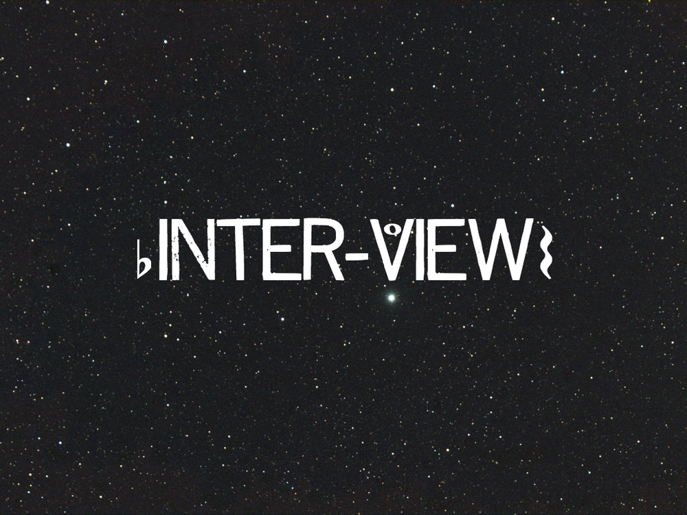 inter-view (video game 2018)  inter-view is an interactive music game in which the player gets asked a series of odd questions. Their unique combination of answers creates a unique piece of music.  (Coming January 2019. Game and music created by Megan Carnes)