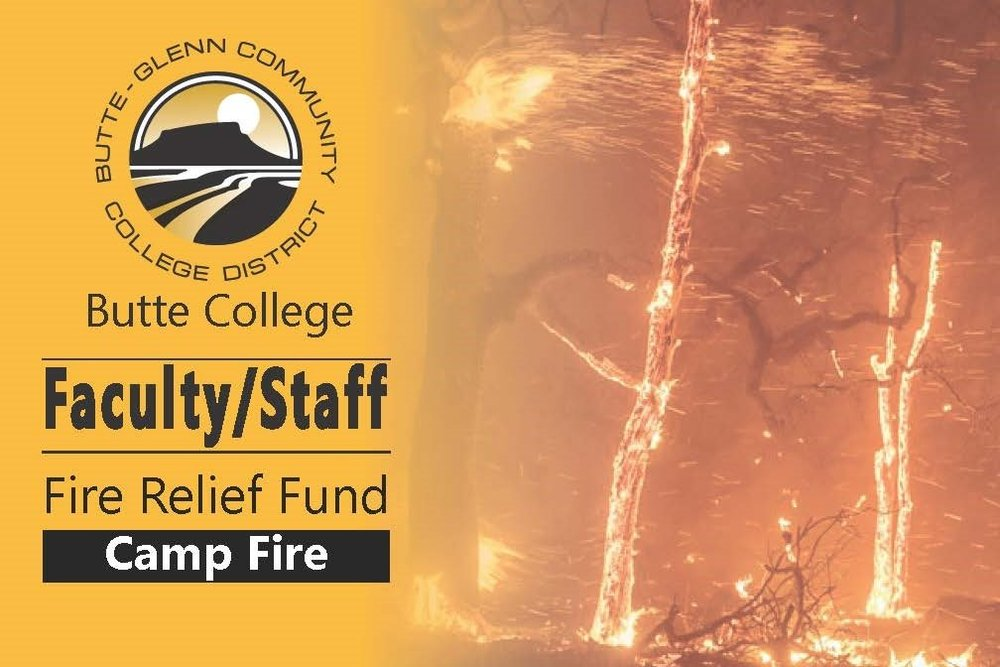 Butte College Faculty/Staff Relief