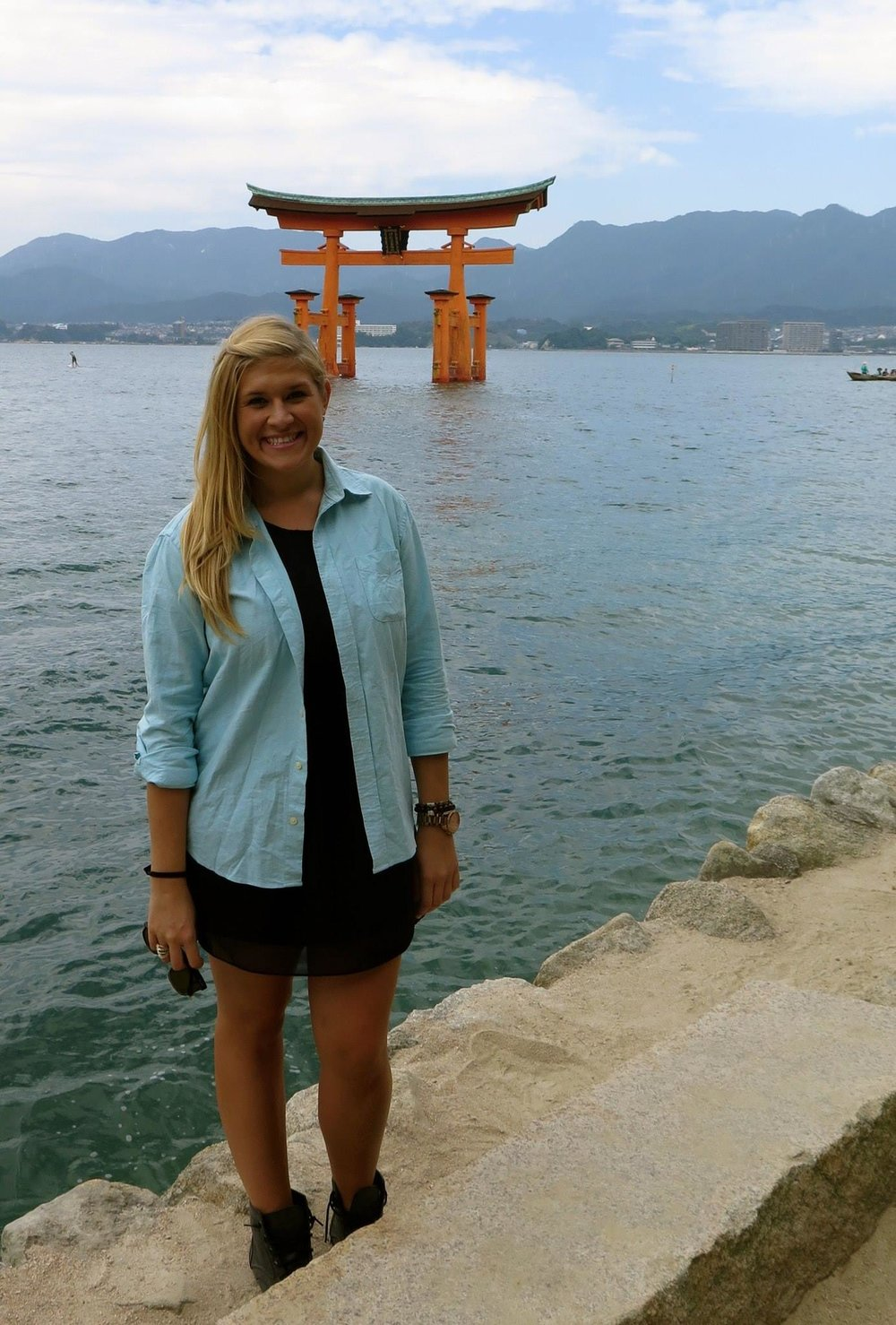 Japan, Itsukushima Shrine (厳島神社 Itsukushima-jinja) is a Shinto shrine on the island of Itsukushima.jpg
