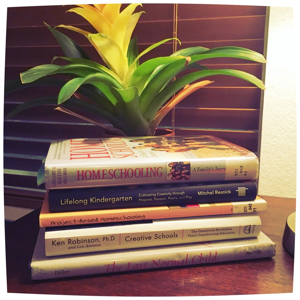 I always have a stack of books on my nightstand!