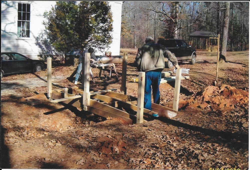Bridge Building - A donation was made so we could provide access to lower potion of the cemetery. which serves as a symbol of how the HHS builds bridges to our extended Hebron Family