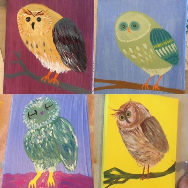 Pupil's Owls