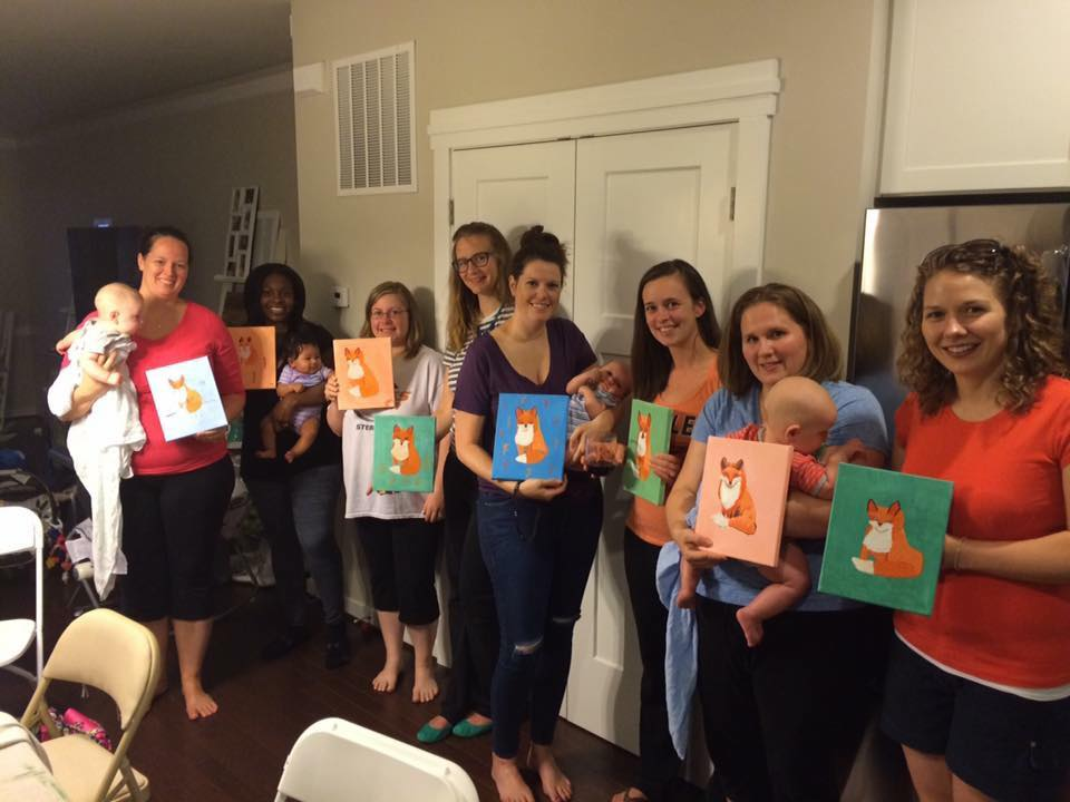 Paci & Paint Night-Foxes