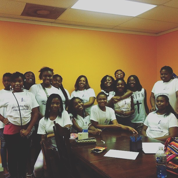 #tbt Summer Empowerment Camp a few years back!  Some of these girls pictured here are on their way to college! WOW!! #1stladyempowerment  #empoweringwomen  #empoweringgirls  #mentorship