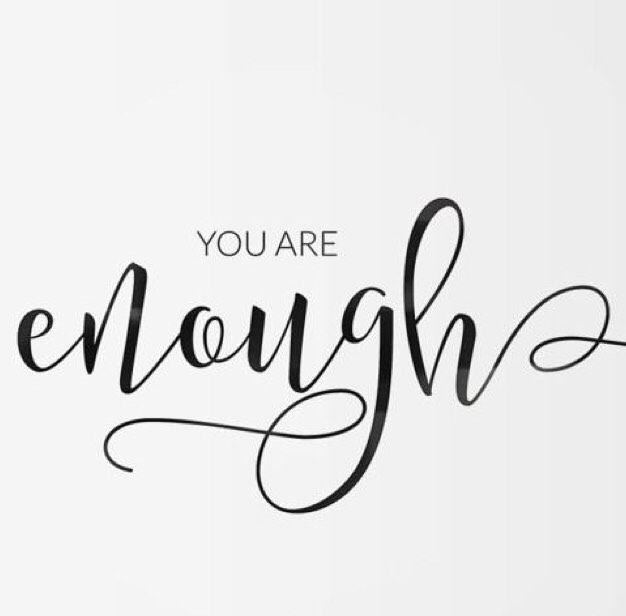 Don't forget, you are enough!  #empowermentmessageoftheday #1stladyempowerment #kswan