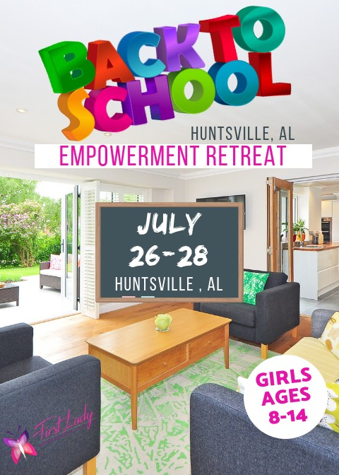 EMPOWERMENT RETREAT - Girls ages 8-14 will enjoy an intimate, safe space where they will explore the meaning of knowing their worth. As the journey back to school begins, girls will learn about social etiquette, social skills, how to navigate social media safely, peer pressure, friendship building and what they should value in today's world. All while relaxing and having fun! This will be an experience that will not soon be forgotten. Location will be provided once registration is completed.