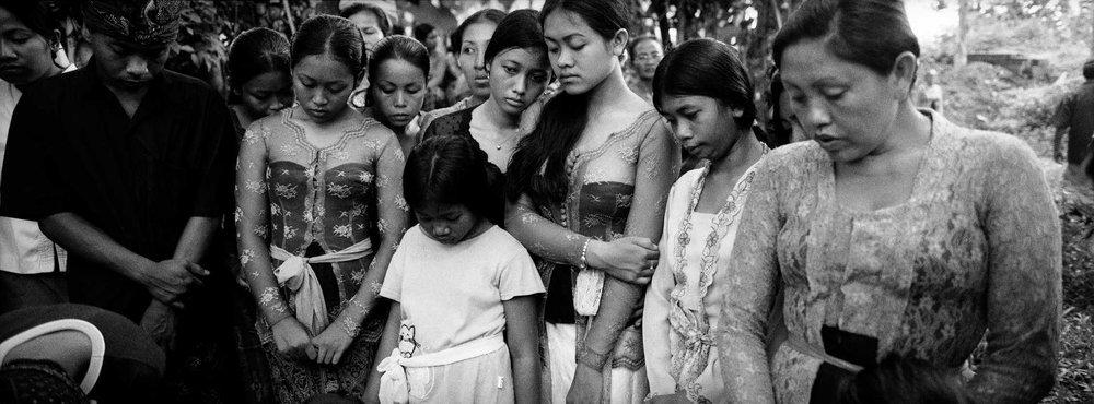 Funeral. Ubud, Bali.