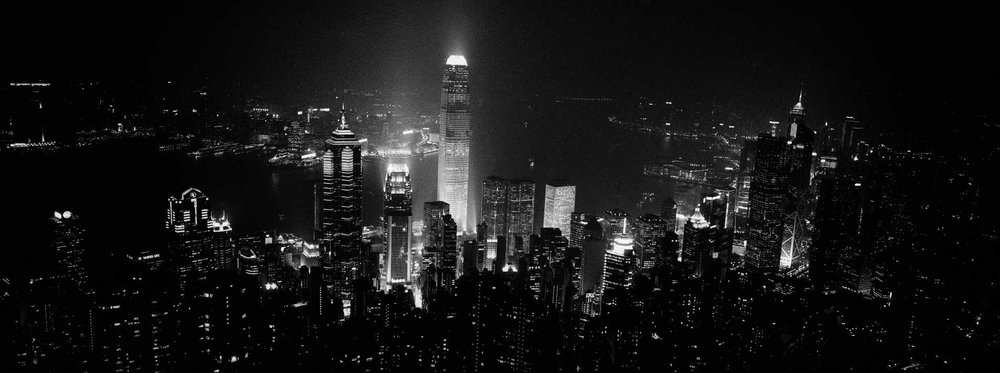 """Night Lights"" Hong Kong."
