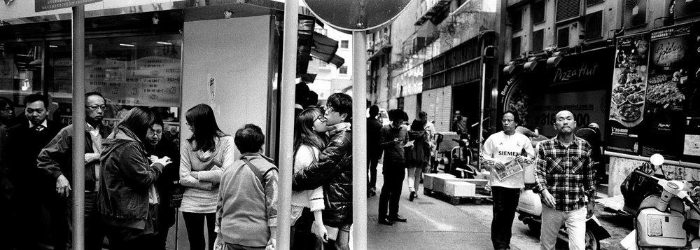 """""""Noodle Shop"""" Hong Kong."""