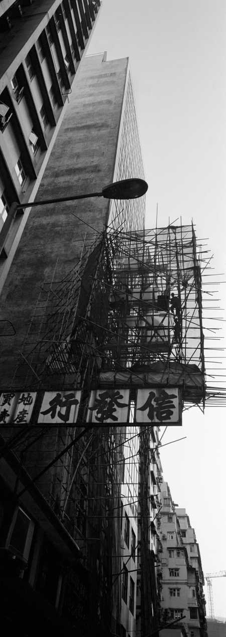 """""""Bamboo Man Cage""""Mong Kok, Hong Kong. 2015"""