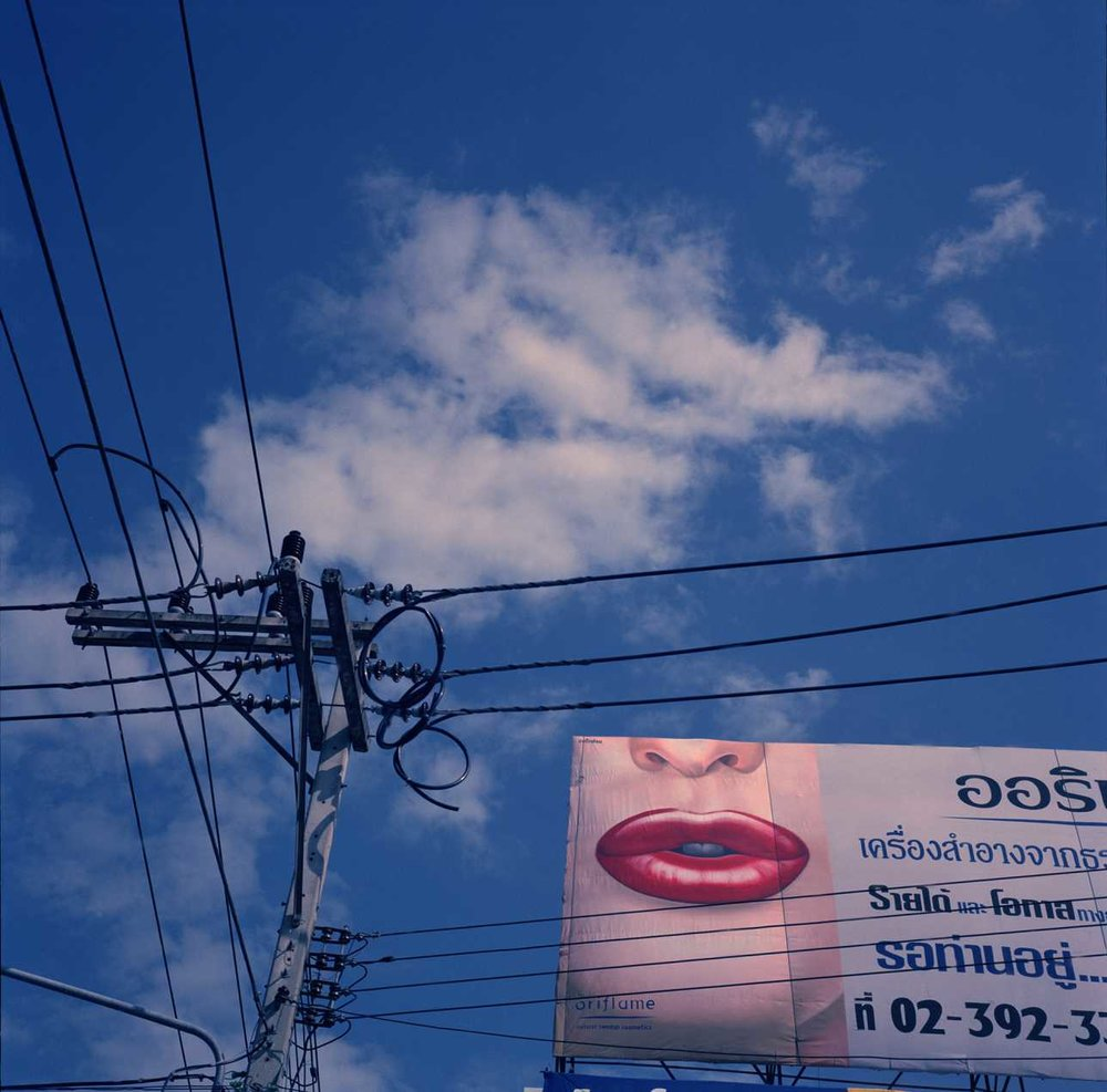 """Lips and Clouds"" Chiangmai, Thailand. 2005"