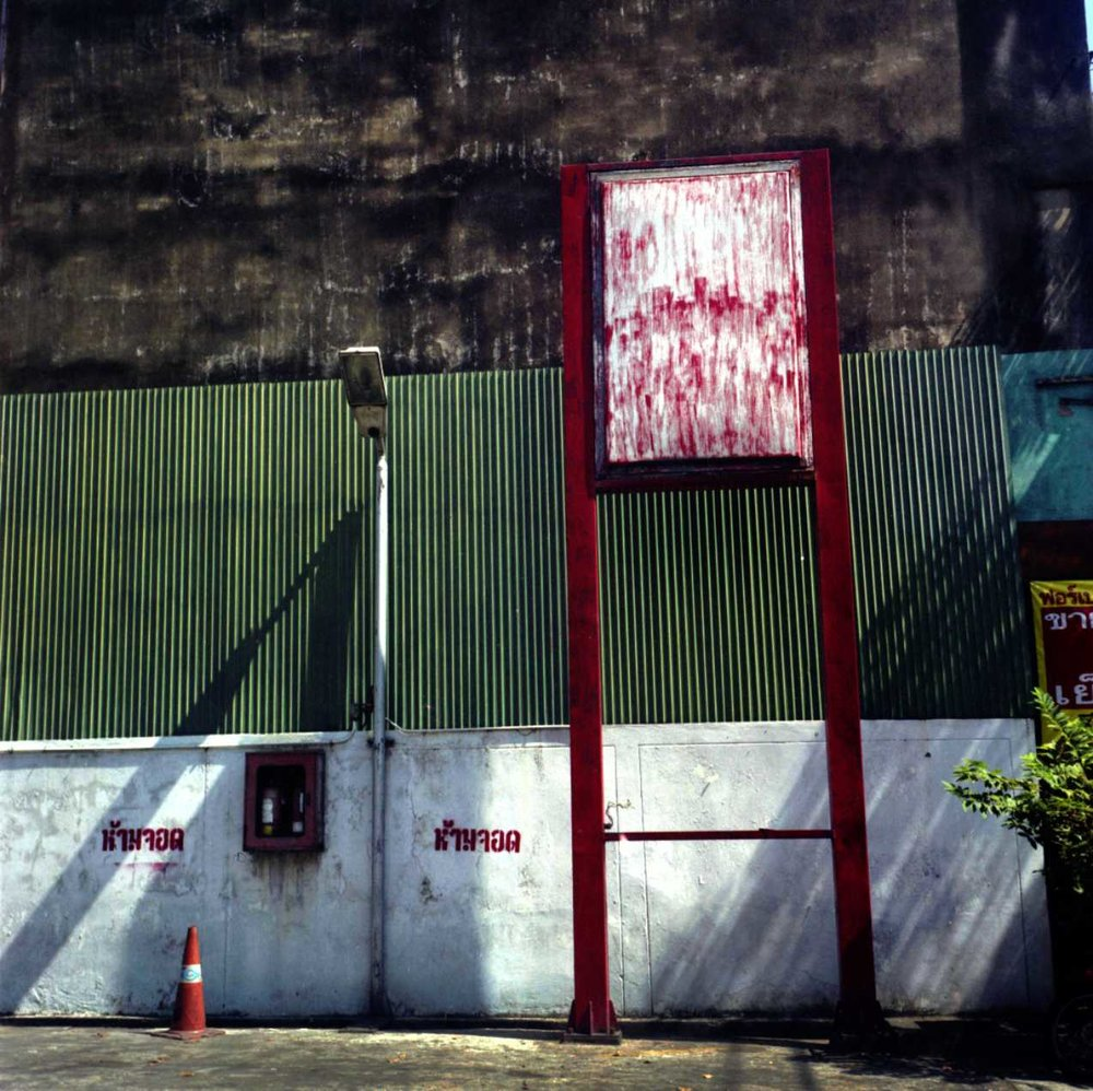 """Red Sign"" Nanglinchi Rd, Bangkok. 2014."