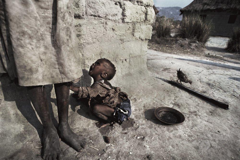 Angola's unforgiving and cruel civil war. Quito, Angola 1993