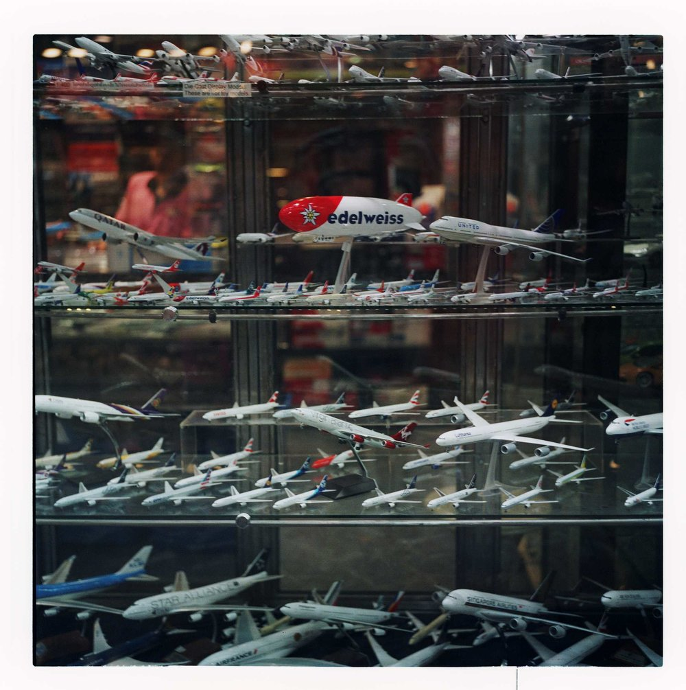 """Window Planes"" MBK, Shopping Centre. Bangkok, 2017"