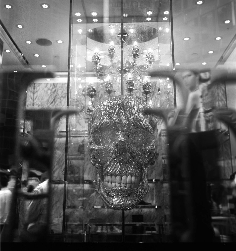 """Philipp Plein Skull"" Queen's Road, Hong Kong. 2015"