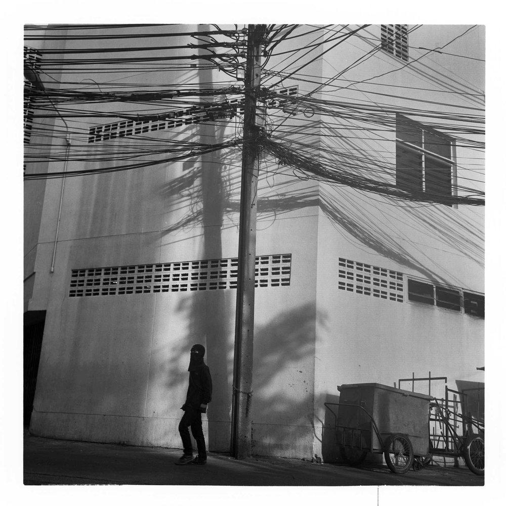 """Soi"" (alleyway) Bangkok. 2016"