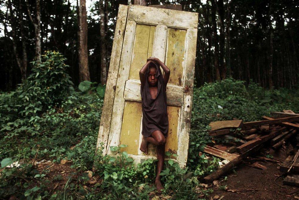 """""""Famine"""" Liberia, 1996"""