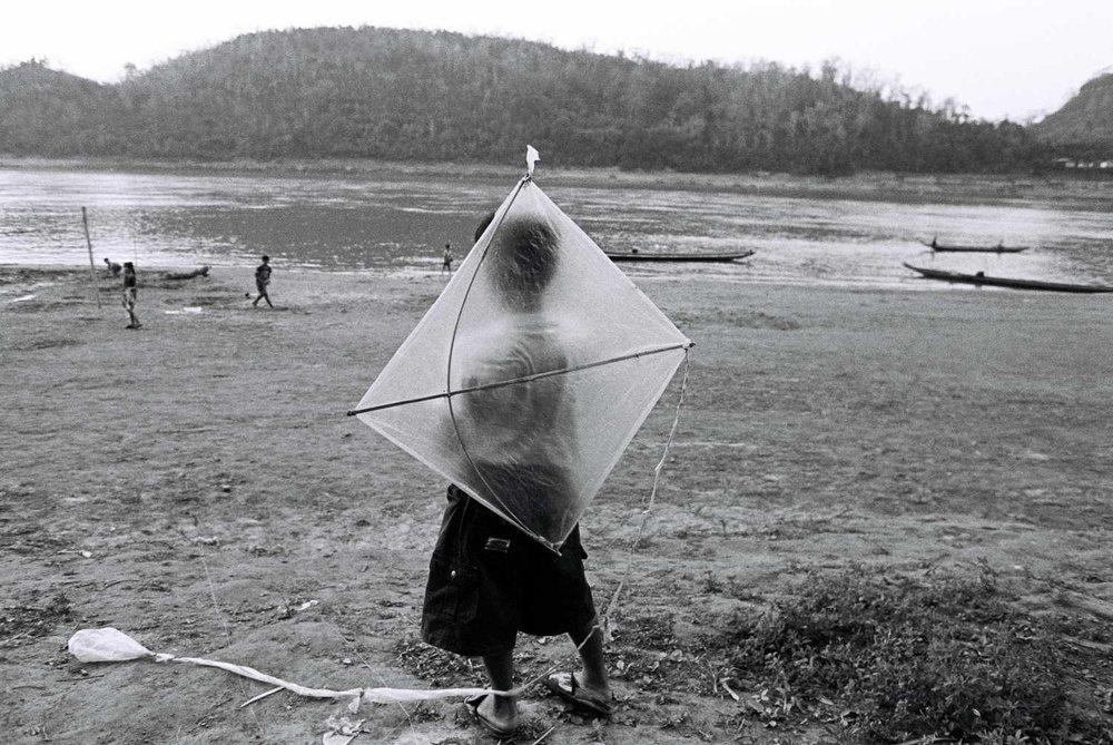 """Becalmed"" Luang Prabang, Laos. 2010"