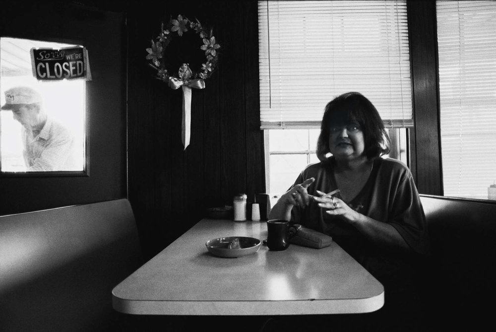 """Diner"" Lake Providence, Louisiana, USA 1994"