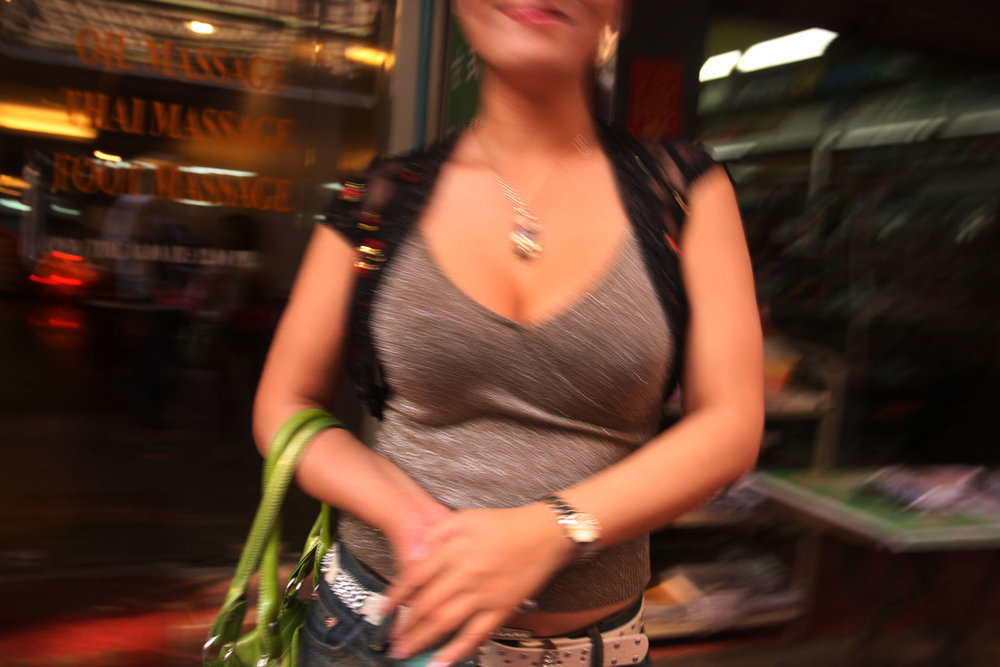 Sex worker. Chinatown, Bangkok 2009